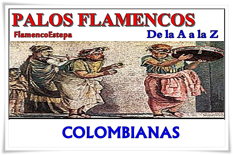 Colombianas. Falseta 3 de punteo. Tablatura
